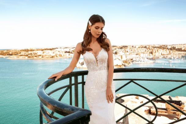 Svatební šaty model mořská panna